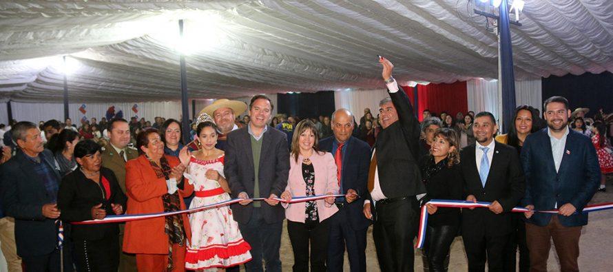 Vicuña comienza a vivir sus fiestas patrias con inauguración de la Pampilla de San isidro