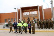 Carabineros presenta contingente para Pampilla de San Isidro con nuevo servicio de bicicletas