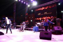 Franco Simone y el humorista Jorge Alis hicieron disfrutar a los asistentes a la Pampilla de San Isidro