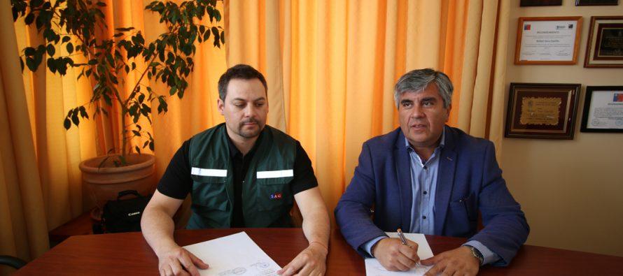 El SAG contará con dependencias en Vicuña gracias a convenio con el municipio local
