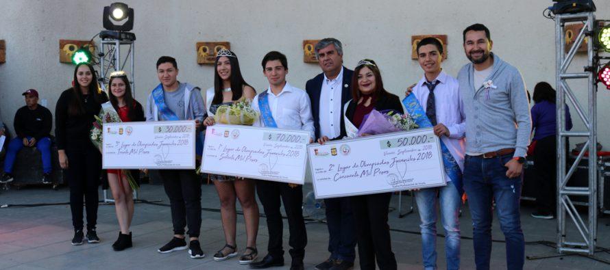 Exitoso cierre artístico tuvo el Mes de la Juventud en la comuna de Vicuña