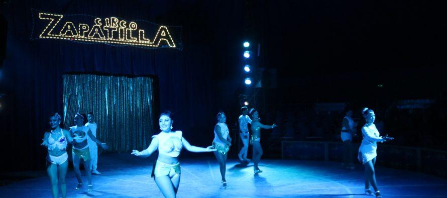 Adultos mayores de Vicuña disfrutaron de una función gratuita del circo Zapatilla