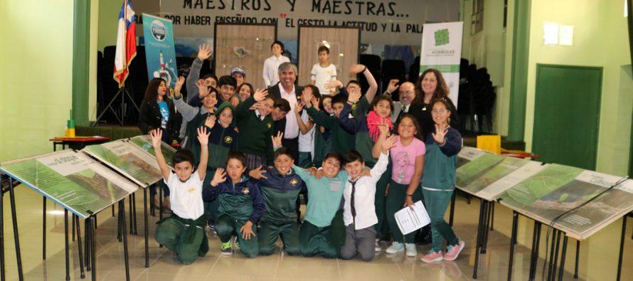 """""""Ciencia de Mar y Tierra"""" de CONICYT cerró su ciclo por la región de Coquimbo en Vicuña"""