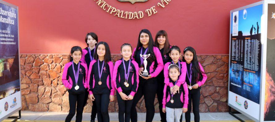 Academia de patinaje Amulen de Vicuña sigue cosechando logros y fortaleciendo el deporte