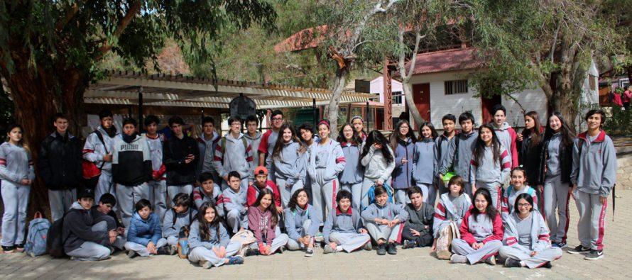 Comunidad educativa de Montegrande compartieron con estudiantes de Viña del Mar