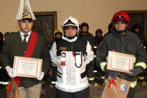 Bomberos celebró un nuevo aniversario institucional en Paihuano