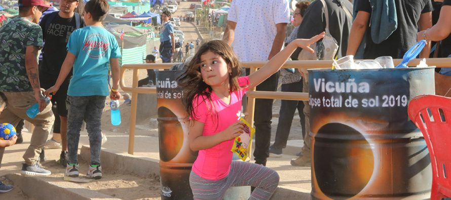 Vicuña potencia el cuidado del medio ambiente y el eclipse solar en la Pampilla de San Isidro