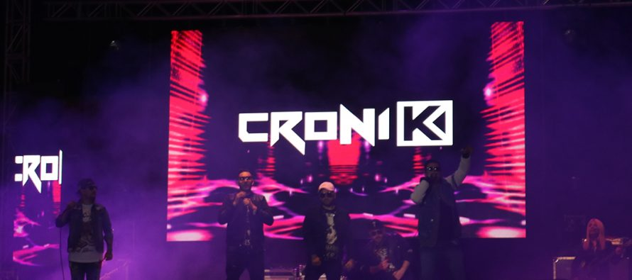 Croni-k dio el cierre a una exitosa segunda noche de la Pampilla de San Isidro en Vicuña