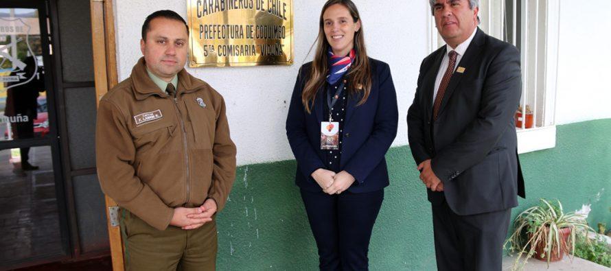 Autoridades coordinan acciones para mejorar la seguridad de Vicuña