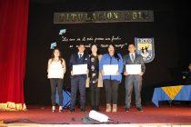 En emotiva ceremonia se titularon los estudiantes de las especialidades técnicas del liceo de Vicuña