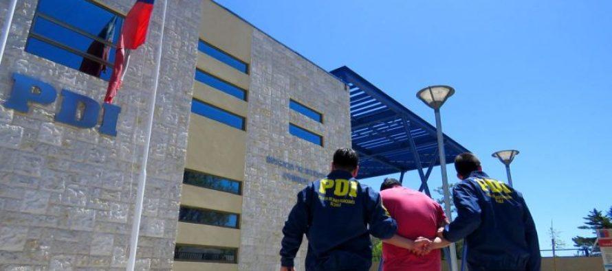 PDI detiene a un hombre en Vicuña por el delito de receptacion.