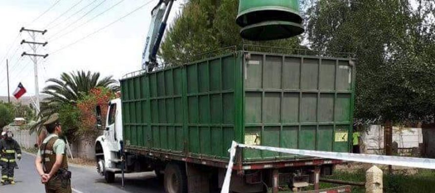 Chofer de camión grúa falleció al recibir descarga eléctrica en La Compañía