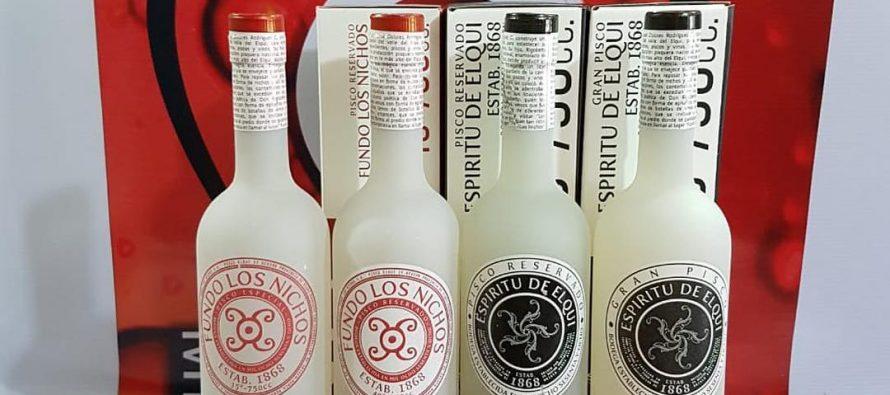 Dos piscos elquinos fueron elegidos entre los mejores destilados del mundo