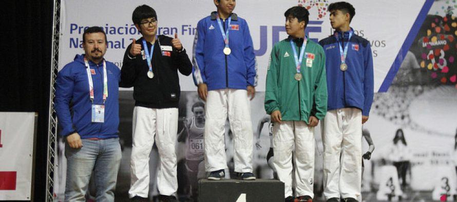 Judocas de Paihuano brillan en Final Nacional de Los Juegos Deportivos Escolares