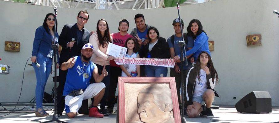 """En Vicuña se vivió el 2do """"Carnaval Arte por la Vida"""" que crea conciencia sobre el cáncer infantil"""