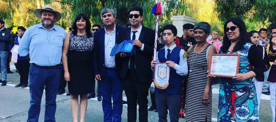 Estudiantes de tres regiones fueron parte del XI Encuentro de Bandas de Vicuña