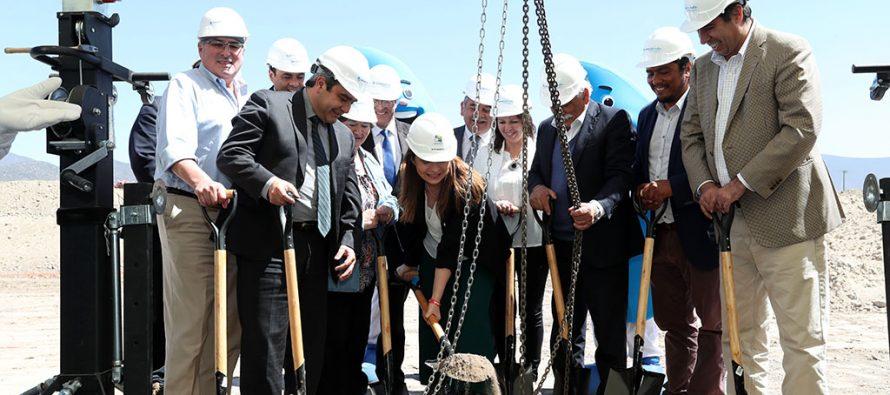 Aguas del Valle construye tranque en Las Rojas que dará 17 horas de respaldo a La Serena y Coquimbo