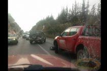 Motorista falleció en accidente en la Quebrada de Monardez