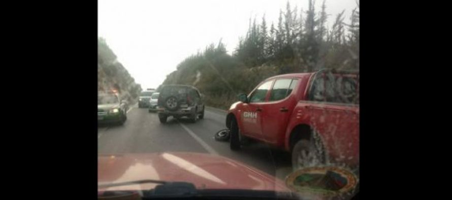 Motorista falleció en accidente en la Quebrada de Monardez