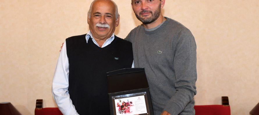 Mauricio Salazar recibe reconocimiento del alcalde Jacob ad portas de su retiro