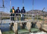 Regantes y autoridades regionales recorren obras en el canal Bellavista bonificadas por la CNR