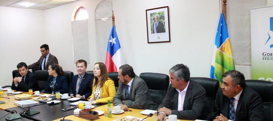 Alcaldes de la región analizan proyectos comunales junto a la Intendenta y el SUBDERE