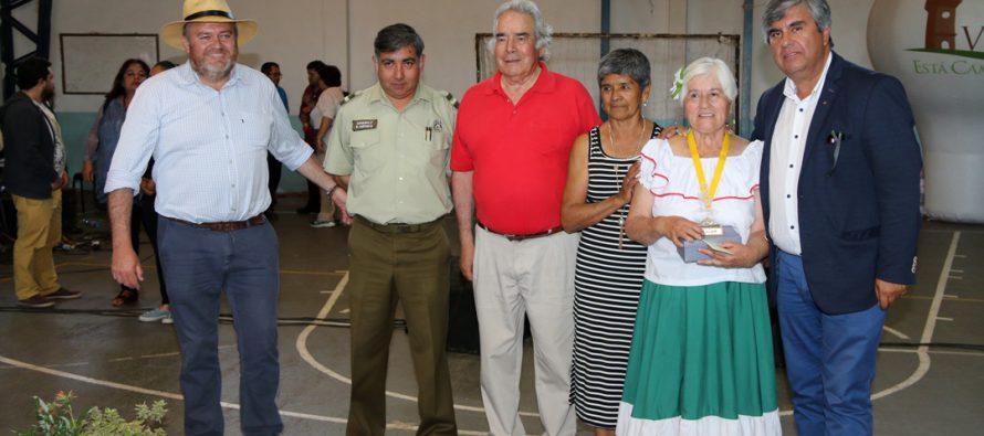 Con entusiasmo se desarrolló la II versión del festival de talentos de los adultos mayores de Vicuña