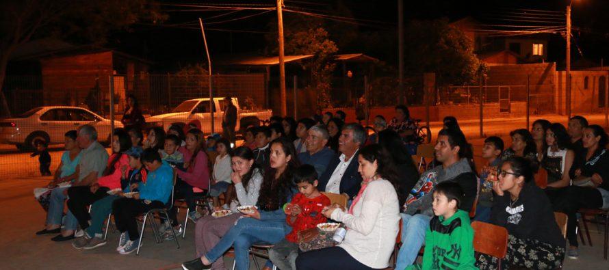 """En El Arenal se vivió una nueva jornada del Programa """"Derechito al cine"""""""