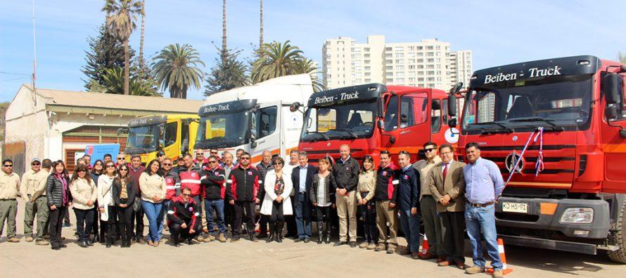 MOP cuenta con nueva maquinaria para apoyar trabajo en caminos rurales de la región