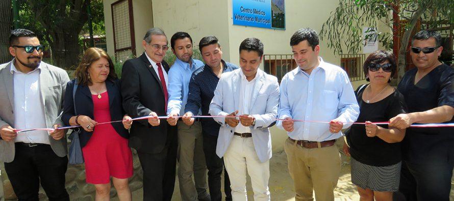 Paihuano inaugura la primera clínica veterinaria de la comuna