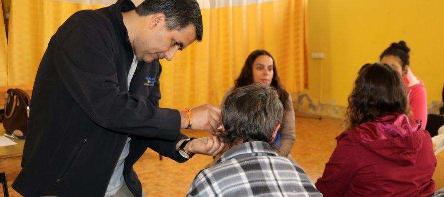 10 personas de Vicuña cambiarán su vida gracias a la entrega de audífonos terapéuticos