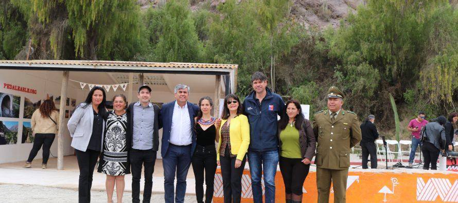 """Elqui Pedaleable"" potencia localidad de El Molle a través de rescate de la ex línea férrea"