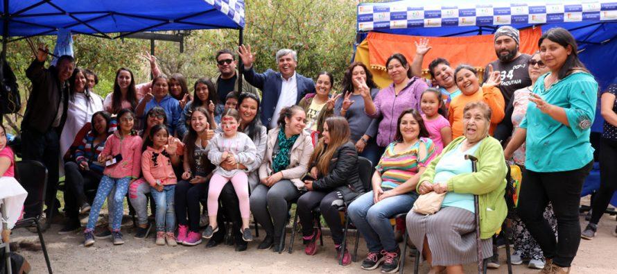 """Chapilca se hace parte de los """"Spa en tu Barrio"""" realizados en Vicuña"""