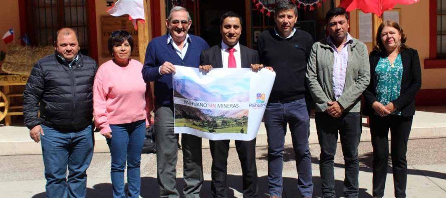 Concejo Municipal de Paihuano rechaza posible instalación de la minera en la alta cordillera