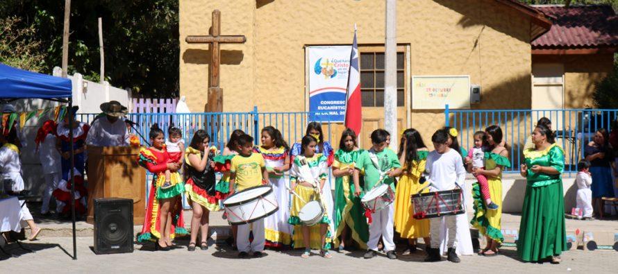 """Con un amplio marco de público se desarrolló el """"Encuentro de 2 Mundos"""" en Rivadavia"""