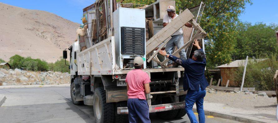 Spa en tu Barrio y recolección de Chatarra llegaron este fin de semana a Villaseca