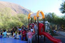 Juegos infantiles llenan de alegría y diversión a niños y niñas de la comuna de Vicuña