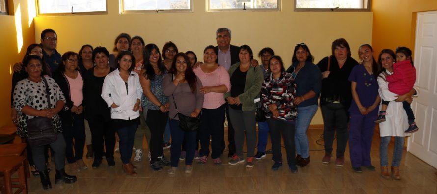 Avanza taller para mejorar hábitos alimenticios de agrupación Guatita de Delantal de Vicuña