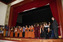 Realizan en Vicuña 2do Encuentro Interregional de Coros de Profesores en Teatro Municipal