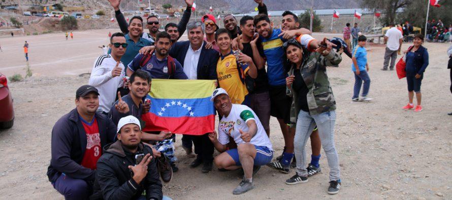 II versión de la Pampilla del Deporte convocó a equipos de inmigrantes a sus actividades