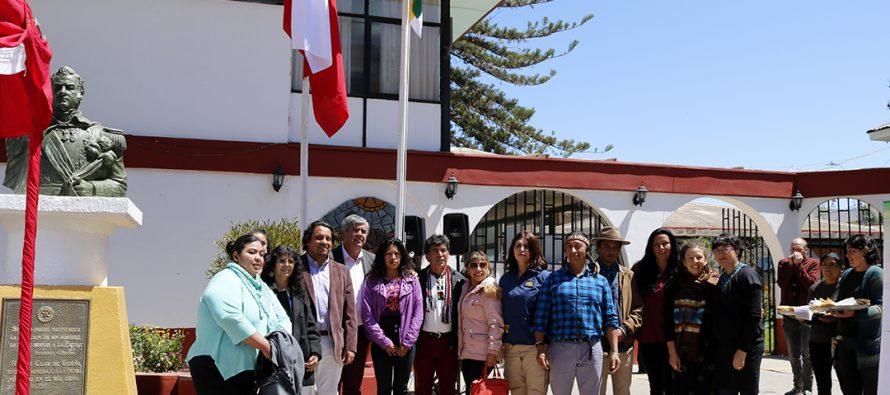 Conmemoran el  Día de la Resistencia Indígena con izamiento de La Whipala y constitución  de mesa
