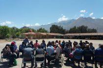 Agricultores y campesinos de Vicuña se reúnen para compartir experiencias y proyecciones futuras
