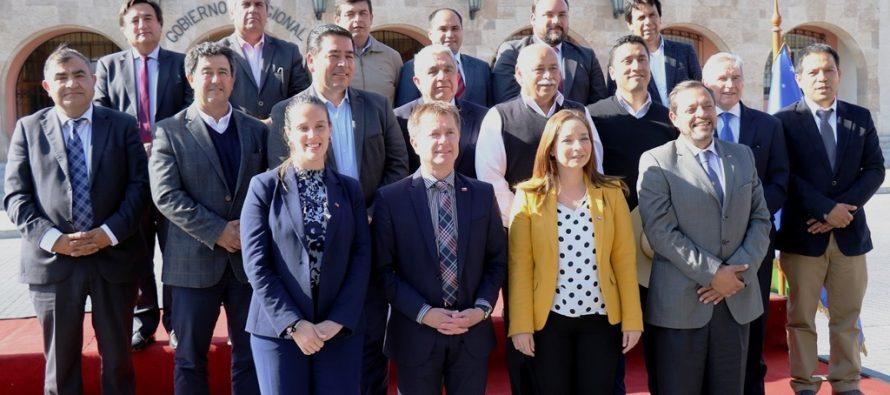 Alcaldes de las 15 comunas de la región destacan el trabajo colaborativo impulsado por el Gobierno