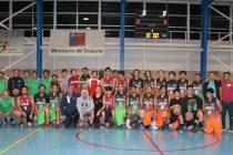 Con entusiasmo se desarrolla la I Liga Comunal de Básquetbol en el polideportivo de Vicuña