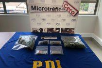 PDI desbarata punto de venta de droga en la localidad de Cochiguaz