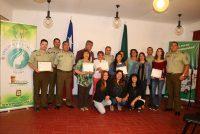 Carabineros y municipio certifican a vicuñenses por su aprendizaje en defensa personal