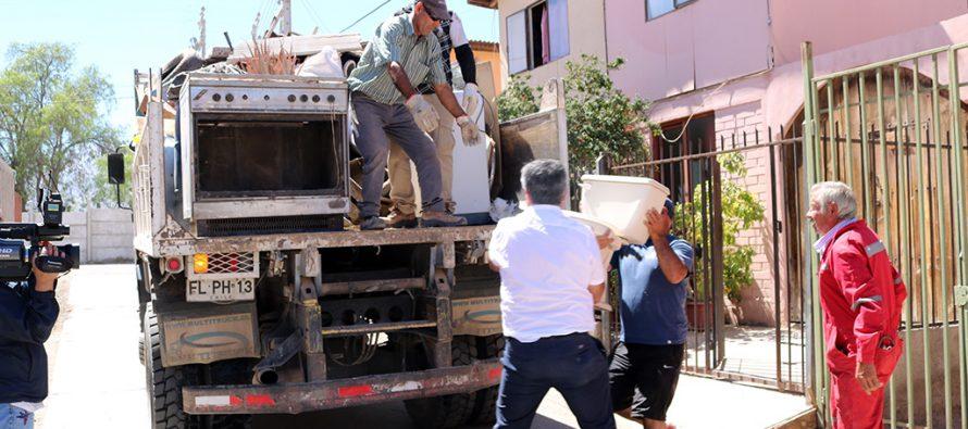 """2 poblaciones de Vicuña fueron las nuevas beneficiadas con la recolección de """"cachureos"""""""
