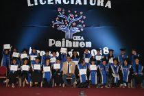 125 adultos de Vicuña recibieron su certificado de enseñanza media gracias a CEIA Paihuen