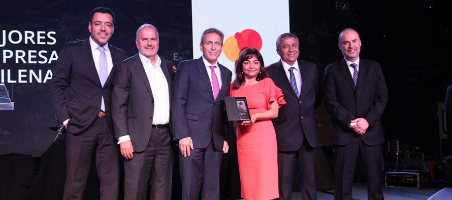 Cooperativa Capel nuevamente premiada como una de las mejores empresas chilenas 2018