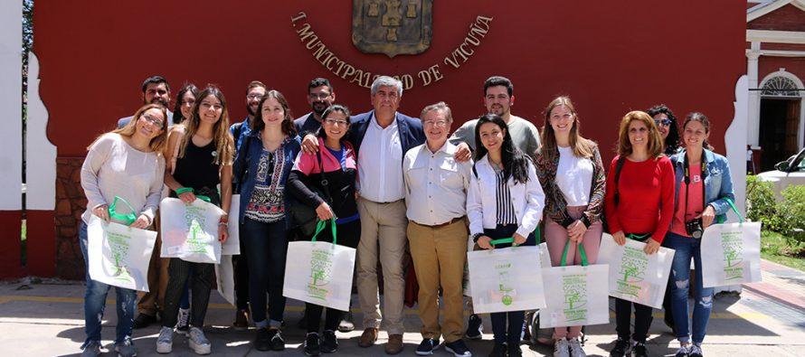 Estudiantes de turismo de la UNSJ realizan pasantía académica en la comuna de Vicuña